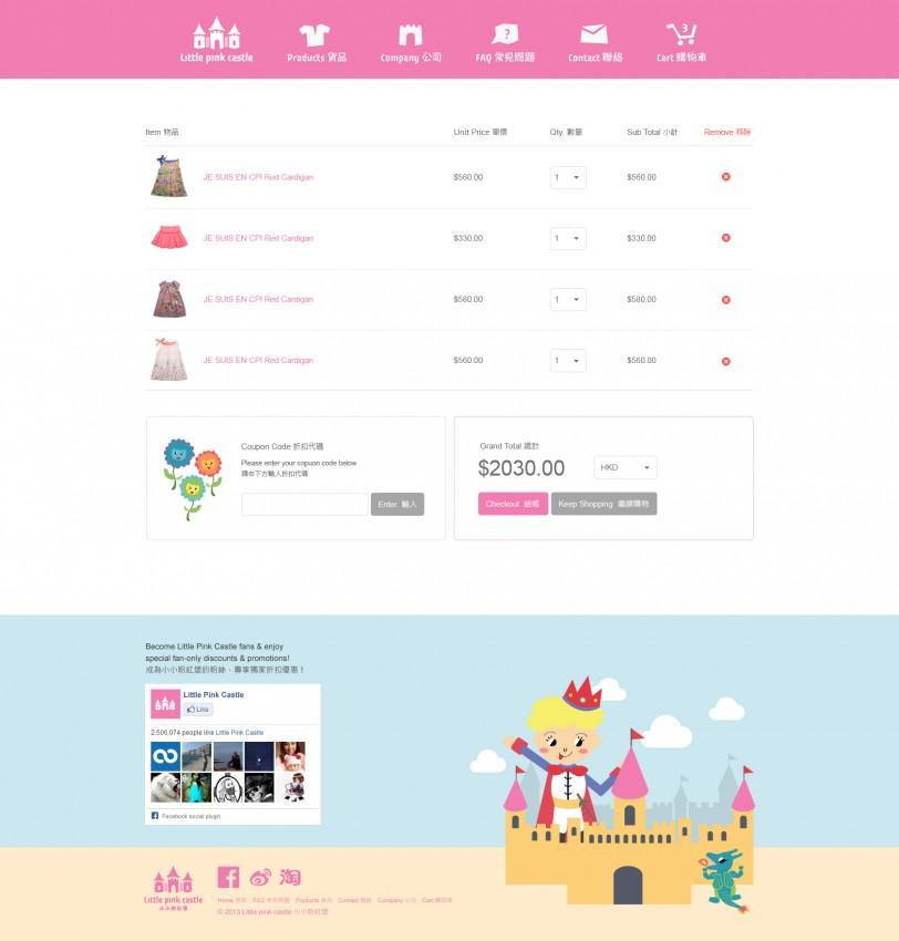 LittlePinkCastle_Cart